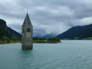 Reschensee - Kirchturm Alt-Graun