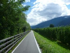 Radweg an der Etsch