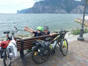 Am Ziel - Torbole am Gardasee