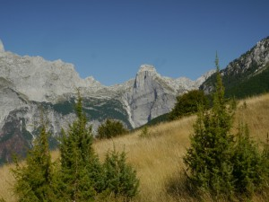 Theth - Weg zum Valbone Pass