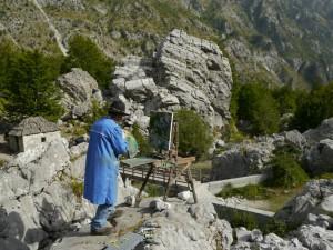Valbone Tal - italienischer Maler