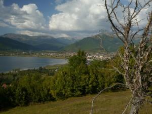 Blick auf Plav und See