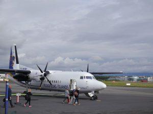 Start in Rekjavik (Stadtflughafen)nach Isafjördur