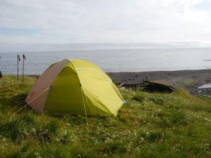 ... traumhafter Zeltplatz in der Bucht