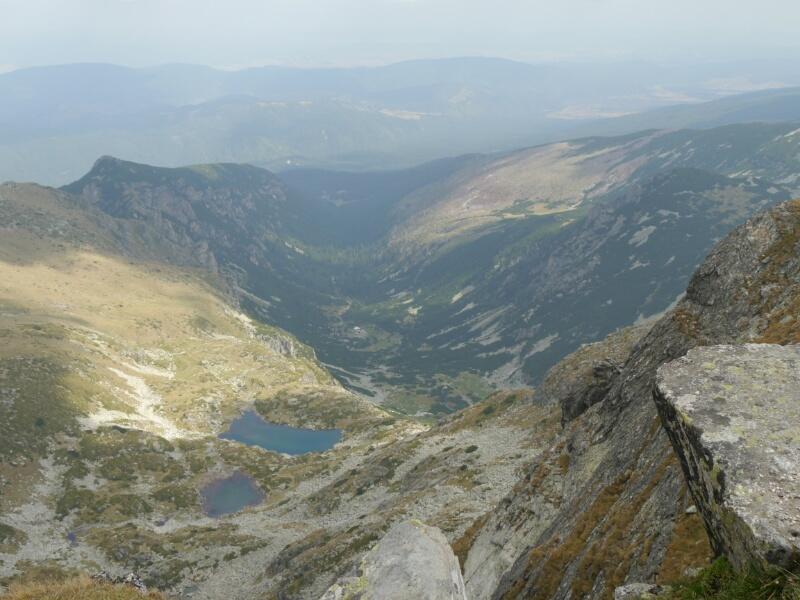 Blick von der Maljovica ins Maljovica Tal