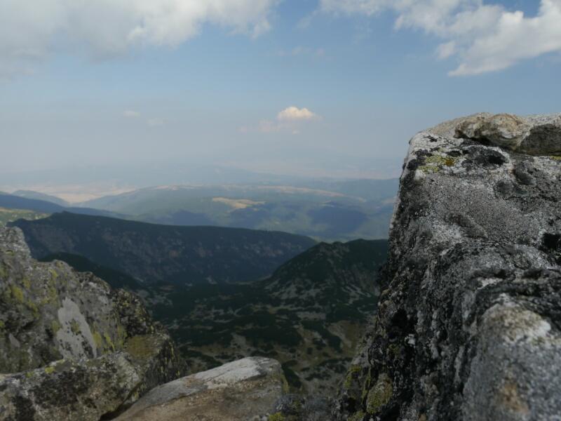 Aussicht von der Lovitsa 2692 m