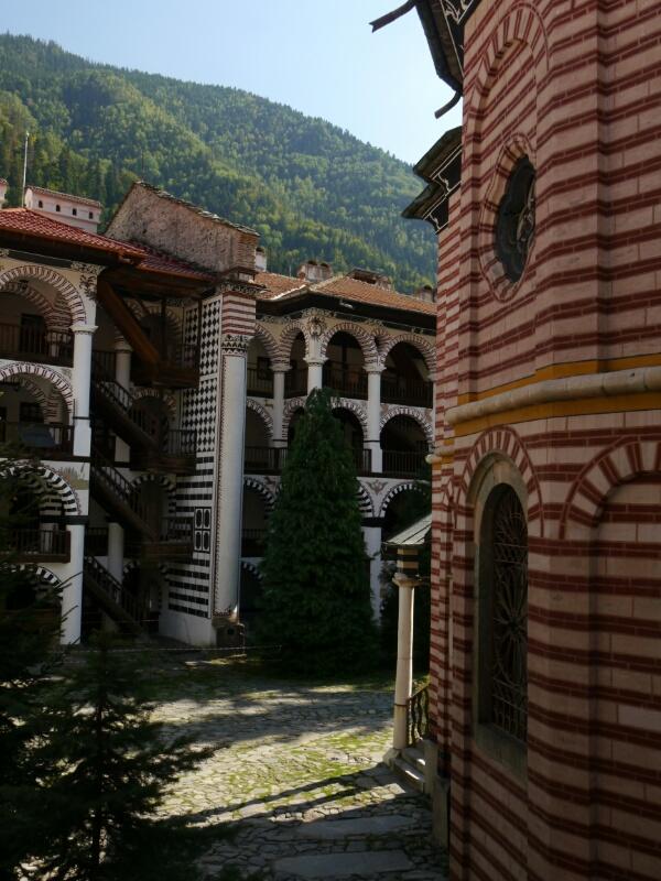 Wohnbereich im Kloster
