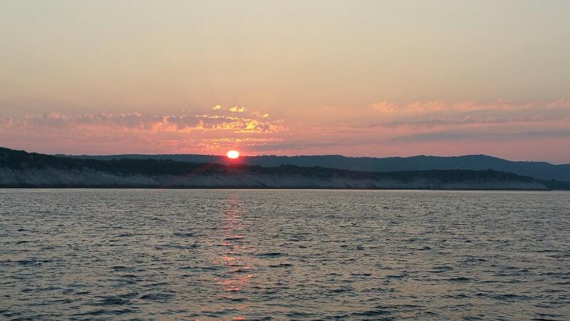 Sonnenaufgang vor Dugi Otok