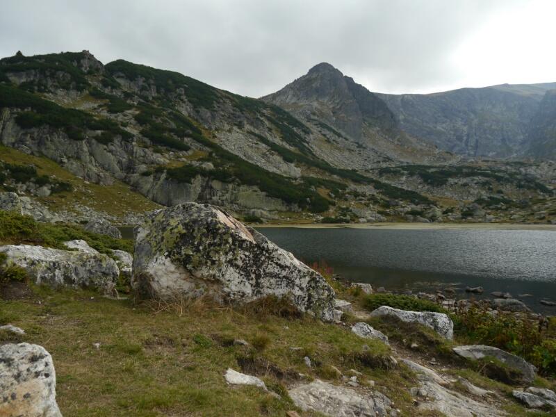 Einer der Rila Seen