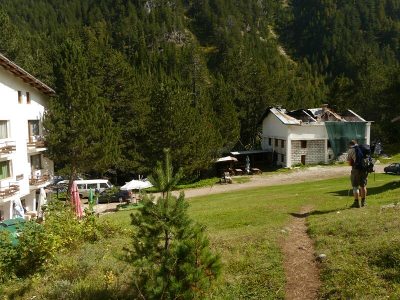 Banderica Hütte