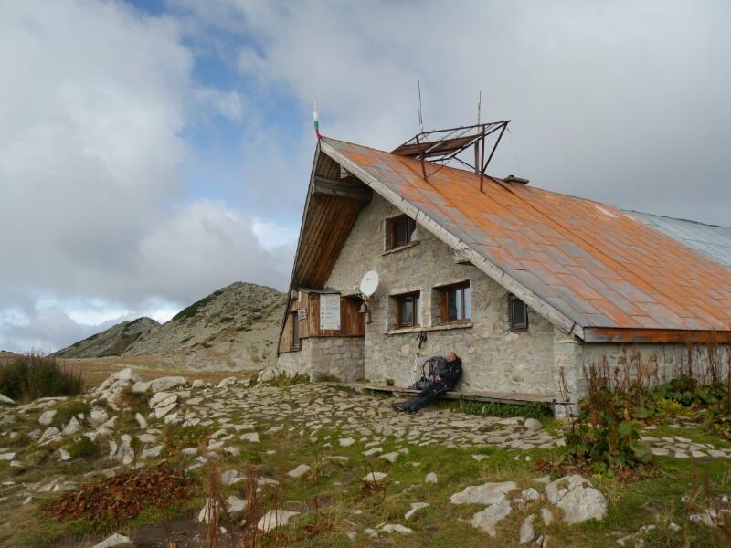 Hütte Tevno Ezero