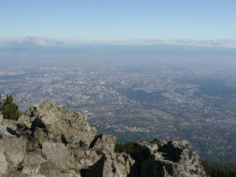 Aussicht auf Sofia