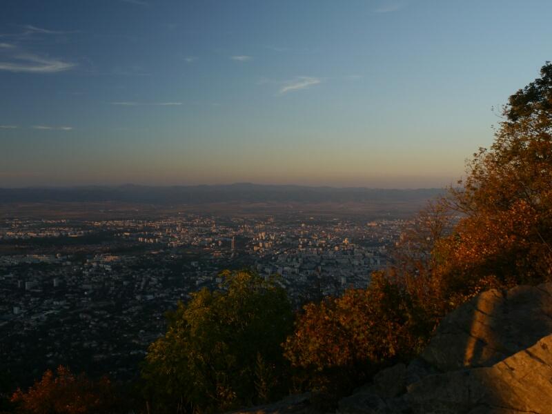 Blick auf Sofia