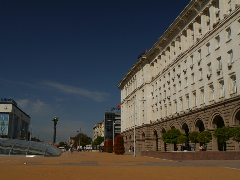 Bau aus der Sowjetzeit