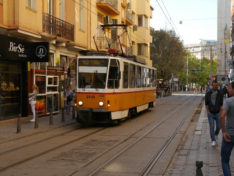 Sofia Straßenbahn