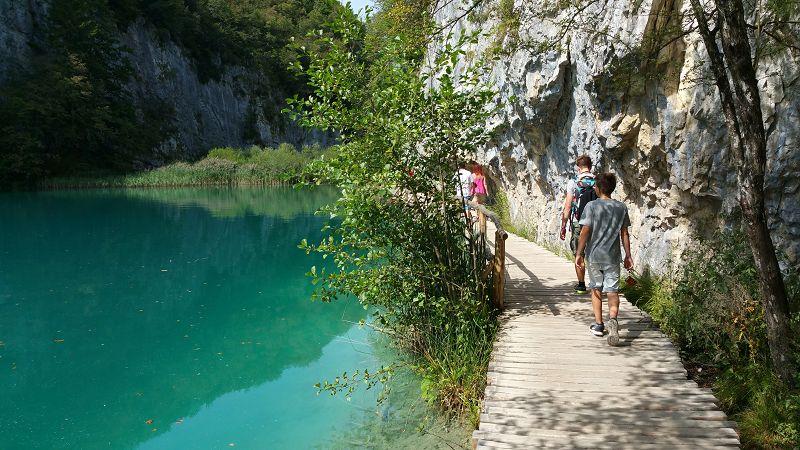 Wege im Park der Plitzwicer Seen