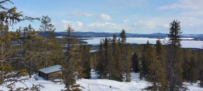 Slagnäs – Lappland – Schneeschuhtour